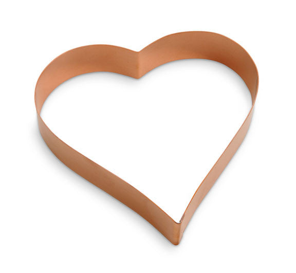 """Sentimental Heart"" ~ Custom Copper Cutter"