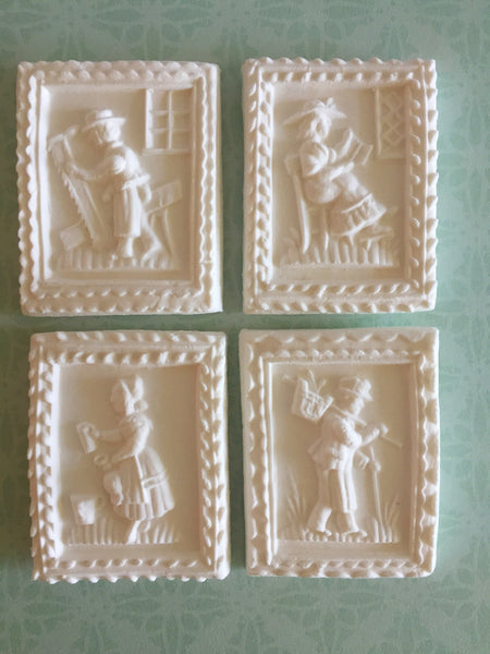 """Simpler Times"" ~ Springerle Cookie Molds"