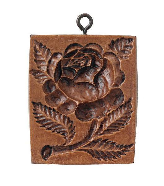 """Damask Rose"" ~ Springerle Cookie Mold"