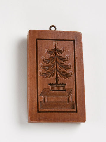 """Tree on Table"" ~ Springerle Cookie Mold"