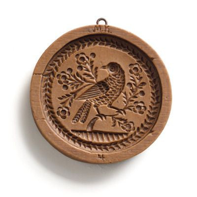 """Bird on a Branch"" ~ Springerle Cookie Mold"