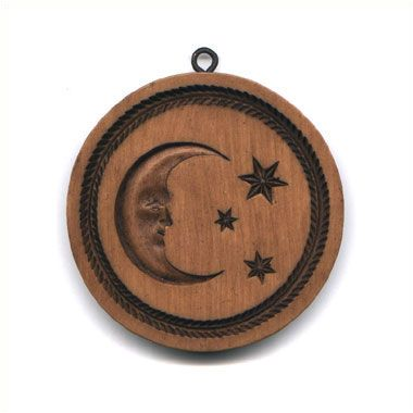 """Celestial Moon"" ~ Springerle Cookie Mold"