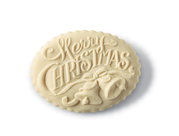 """Merry Christmas"" ~ Springerle Cookie Mold"
