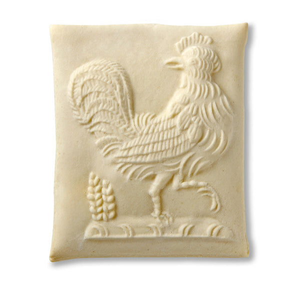 """Strutting Rooster"" ~ Springerle Cookie Mold"