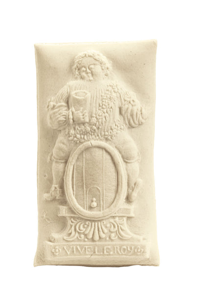 """King Bacchus"" ~ Springerle Cookie Mold"