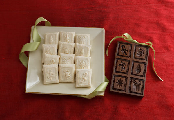 """Holiday Delights"" ~ Springerle Cookie Mold"