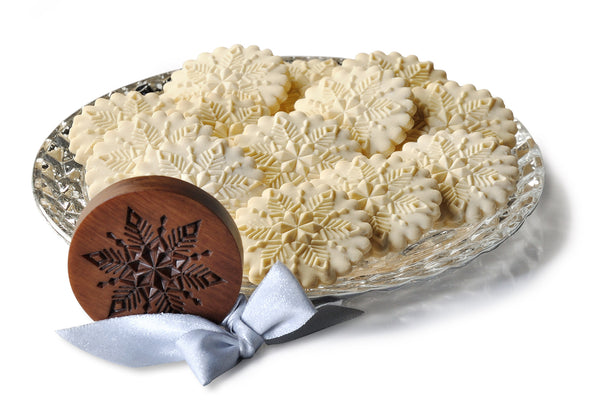 """Crystal Snowflake"" ~ Springerle Cookie Mold"