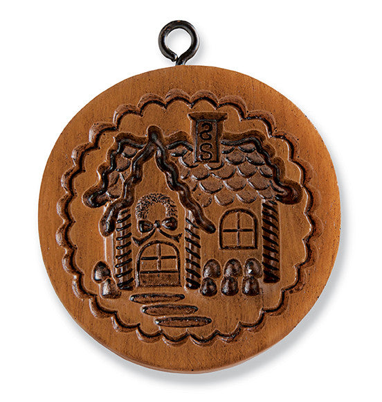 """Gingerbread Cottage"" ~ Springerle Cookie Mold"