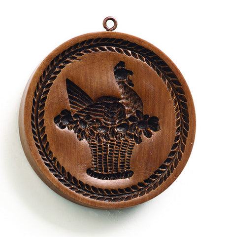 """French Country Hen"" ~ Springerle Cookie Mold"