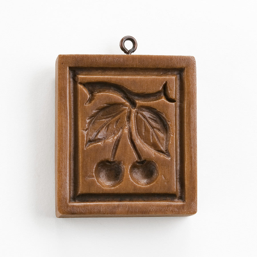 """Cherries"" ~ Springerle Cookie Mold"