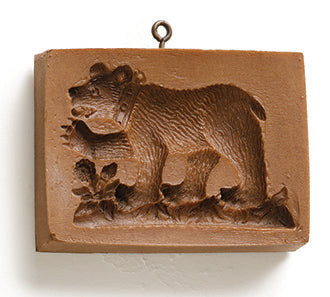 """Berne Bear"" ~ Springerle Cookie Mold"