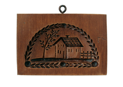 """Country House"" ~ Springerle Cookie Mold"