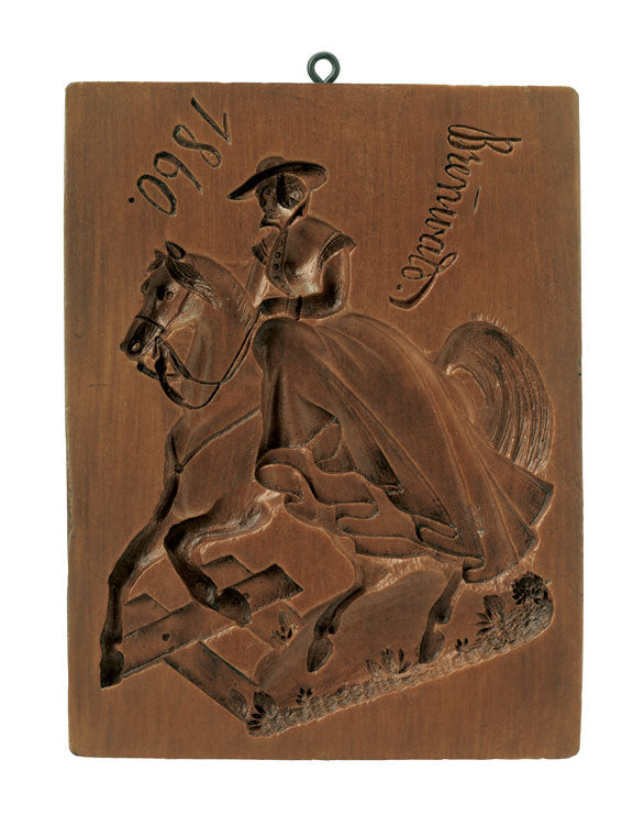 """Equestrian"" ~ Springerle Cookie Mold"