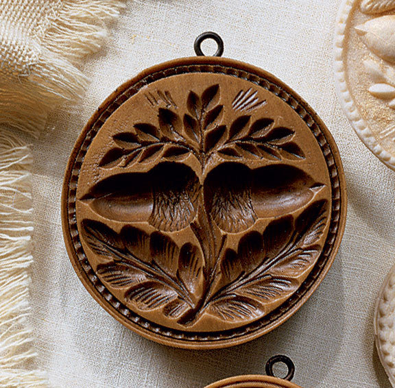"""Double Acorn"" ~ Springerle Cookie Mold"