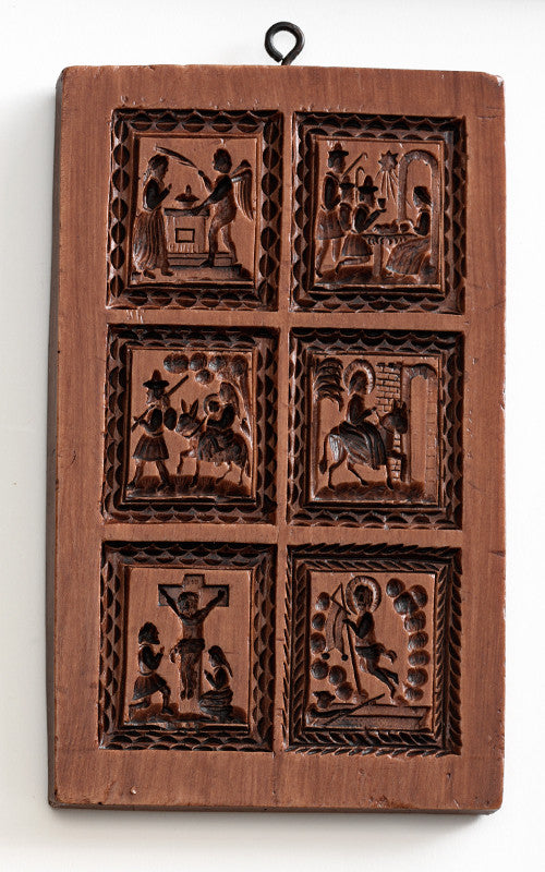 """Life of Christ"" ~ Springerle Cookie Mold"