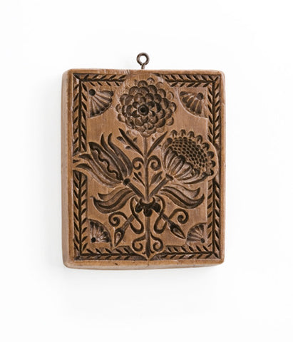 """Williamsburg Floral"" ~ Springerle Cookie Mold"