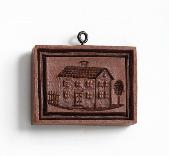"""Biedermeier House"" ~ Springerle Cookie Mold"