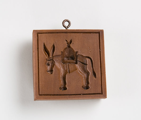 """Faithful Donkey"" ~ Springerle Cookie Mold"