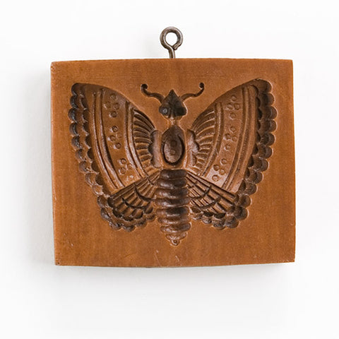 """Elegant Moth"" ~ Springerle Cookie Mold"