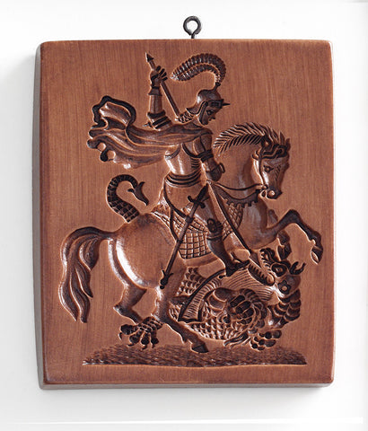 """St George and the Dragon"" ~ Springerle Cookie Mold"