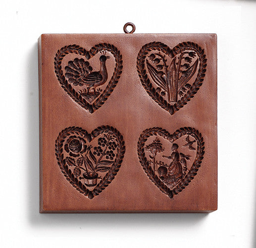 """Heartstrings"" ~ Springerle Cookie Mold"