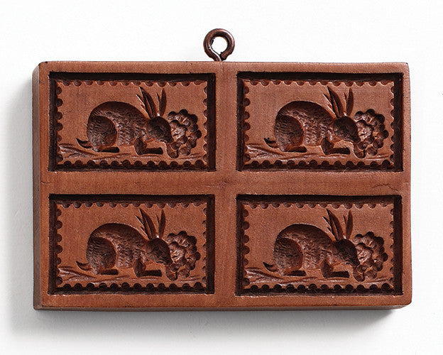 """Bunny Patch"" ~ Springerle Cookie Mold"