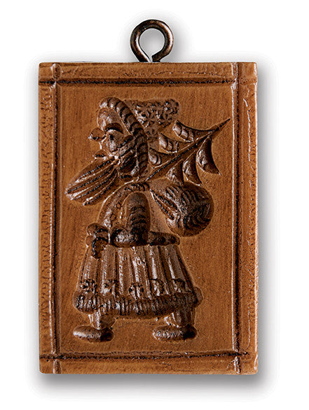 """Small Santa"" ~ Springerle Cookie Mold"