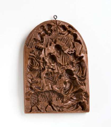 """Spectacular Nativity"" ~ Large Springerle Cookie Mold"