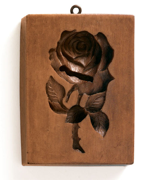 """American Beauty Rose"" ~ Springerle Cookie Mold"