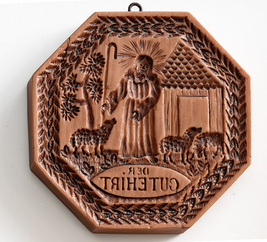"""Good Shepherd"" ~ Springerle Cookie Mold"