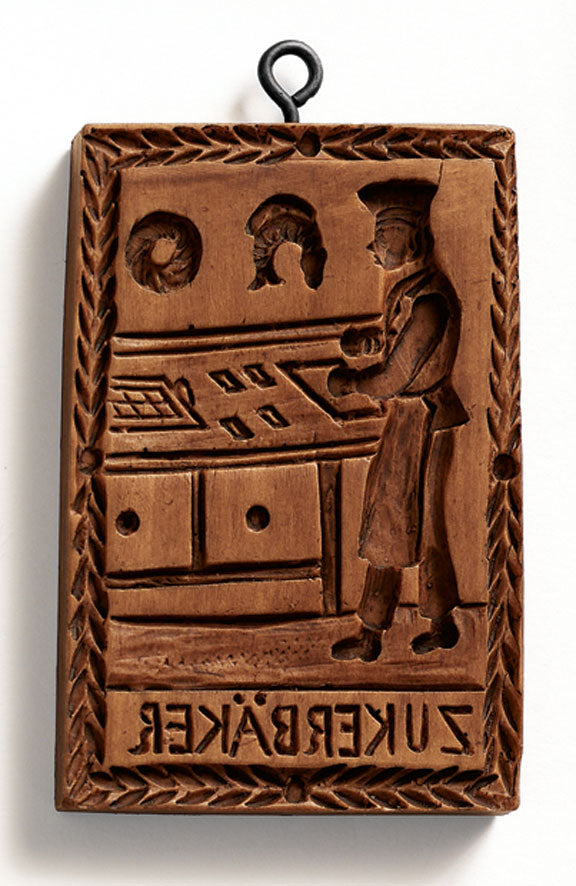 """Sugar Baker"" ~ Springerle Cookie Mold"