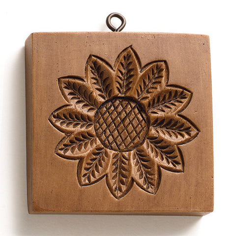 """Sunflower"" ~ Springerle Cookie Mold"