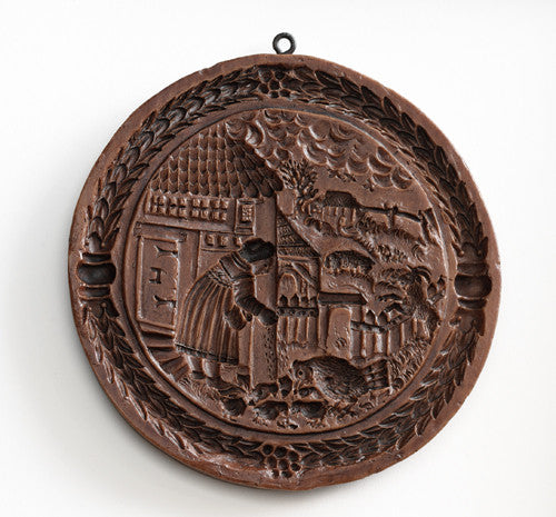 """Goode Wyfe"" ~ Springerle Cookie Mold"