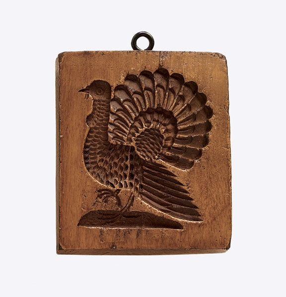 """Classic Turkey"" ~ Springerle Cookie Mold"