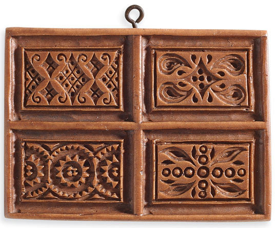 """Parquetry Patterns"" ~ Springerle Cookie Mold"
