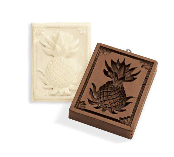 """Pineapple"" ~ Springerle Cookie Mold"
