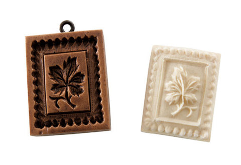 """Sugar Maple"" ~ Small Springerle Cookie Mold"
