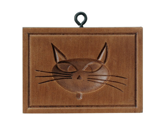 """Catty Cat"" ~ Springerle Cookie Mold"