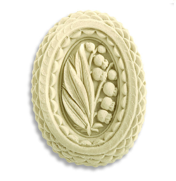 """Oval Lily of the Valley"" ~ Springerle Cookie Mold"