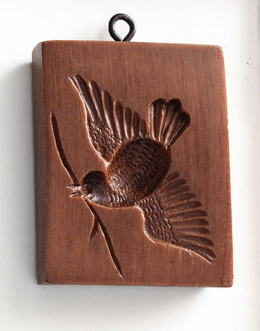 """Fly by Bird"" ~ Springerle Cookie Mold"