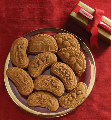 """Swiss Sextet"" ~ Springerle Cookie Mold"