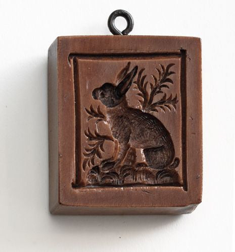 """Watchful Rabbit"" ~ Springerle Cookie Mold"