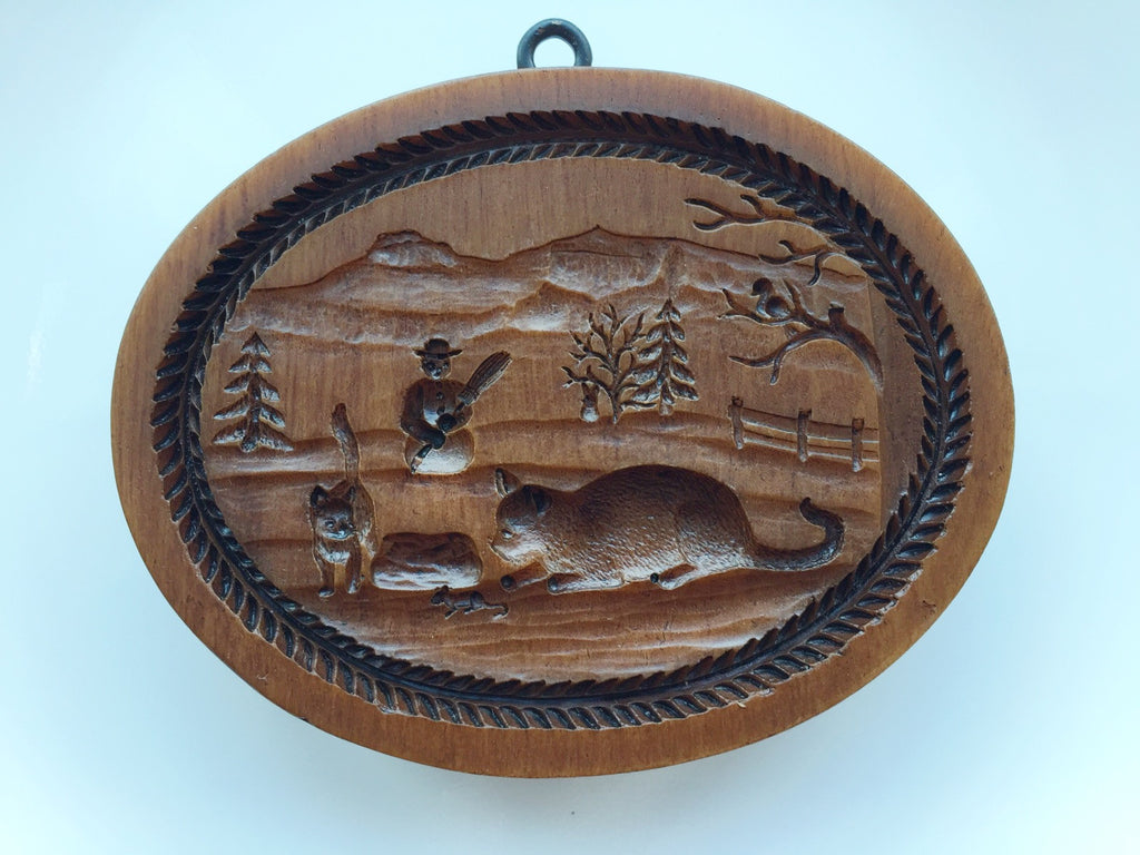 """Four Seasons WINTER"" ~ Springerle Cookie Mold"