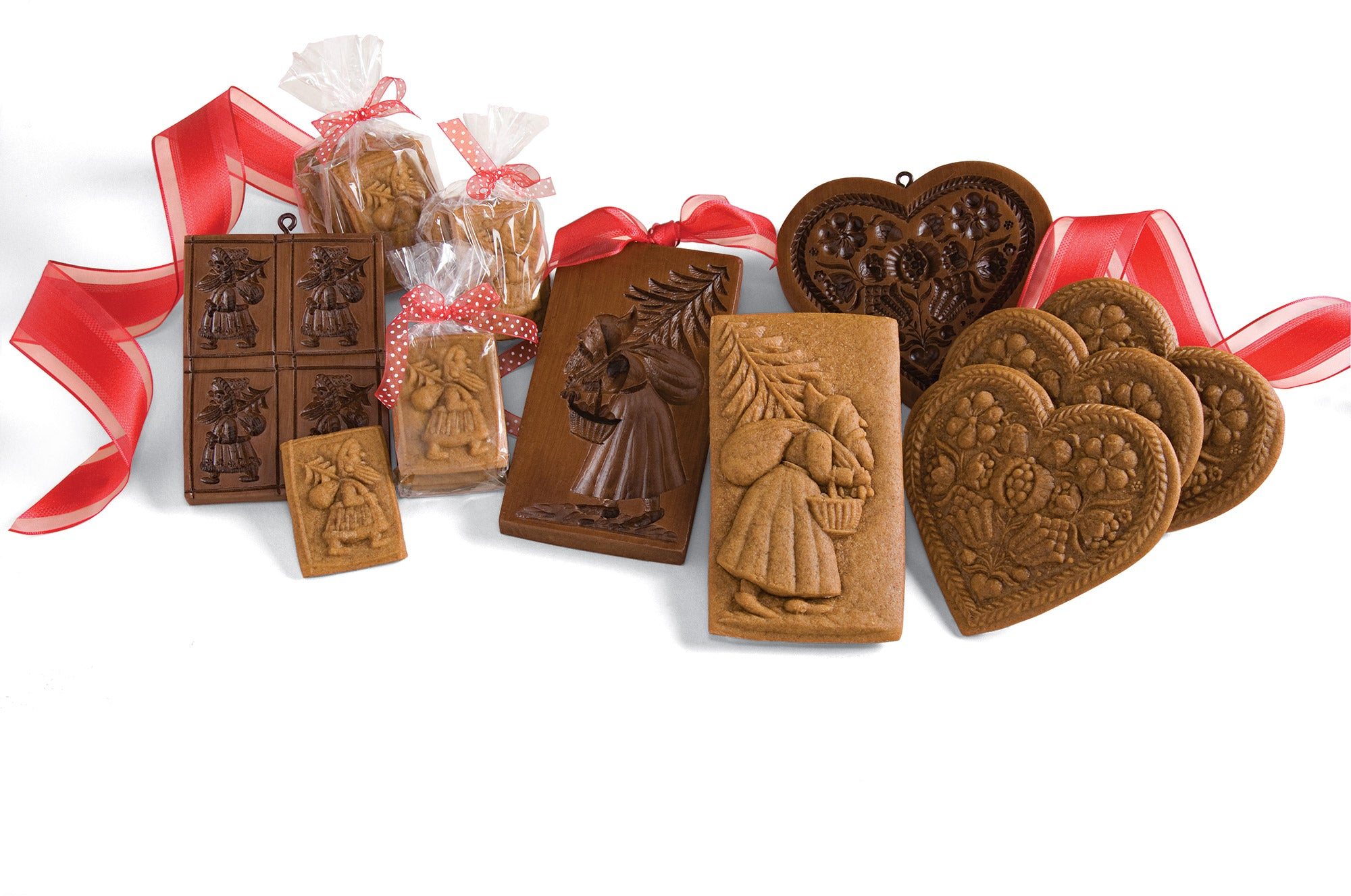 Petite Fleurs and 3 Rosettes Springerle Cookie Molds available at I Love Springerle