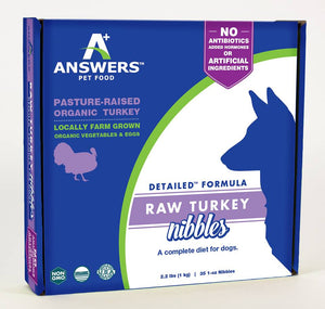 Answers Detailed Turkey Formula (for dogs)