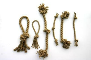 Double Knot Hemp Tug Ropes - Dogs Dig It