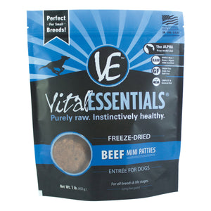 Vital Essentials Freeze-dried Beef Mini Patties