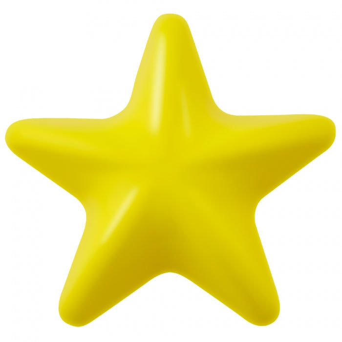 Lil' Dipper Yellow Star is made from the award-winning Orbee-Tuff material, which is 100% recyclable and non-toxic. Toy is durable, bouncy, buoyant, and perfect for tossing, fetching, and bouncing. Infused with natural mint oil.