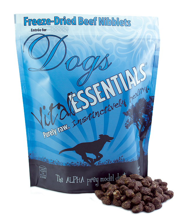 Vital Essentials Freeze-dried Beef Nibblets