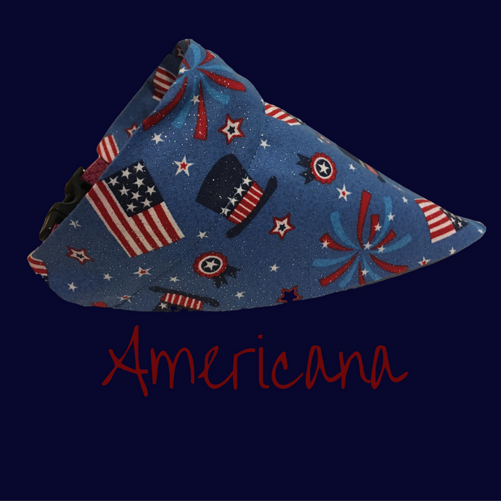 Americana-Dog Bandana - Dogs Dig It